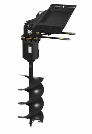 Skid Steer Mini Skid Steer Post Hole Auger Attachment