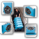 FLOOR BLOWER / CARPET DRYER Velo Low Profile Airmover