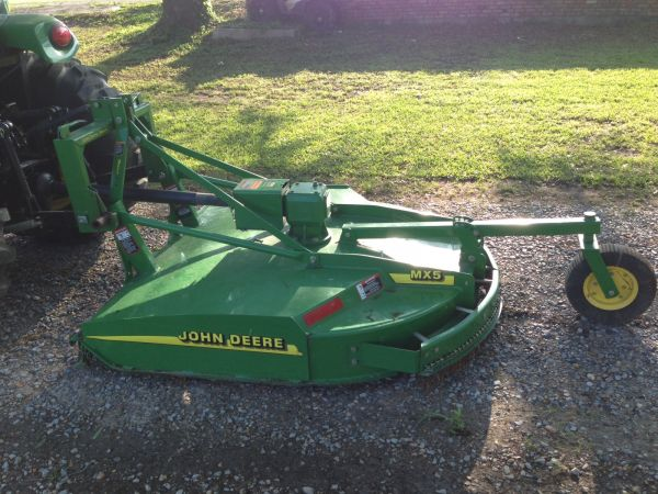 """Jd Power Automotive >> JOHN DEERE TRACTOR WITH 60"""" BRUSH HOG - Michiana Tool and Party Rental"""