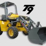 TERRAMITE BACKHOE T9 4X4 10' DIGGING DEPTH