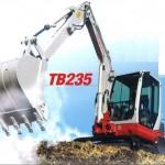 MINI EXCAVATOR TAKEUCHI TB235
