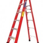 12 FT STEP LADDER (FIBERGLASS)