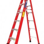 8 FT STEP LADDER (FIBERGLASS)