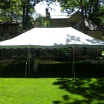 20X30 FIESTA FRAME TENT WHITE TOP
