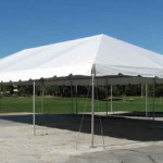 20X40 FIESTA FRAME TENT WHITE TOP