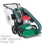 LEAF VAC SELF PROPELLED