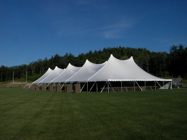 60x180 White Century Pole Tent