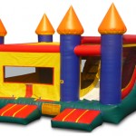 BOUNCE CASTLE WITH SLIDE