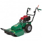 BILLYGOAT WALK BEHIND BRUSH HOG WITH HYDRAULIC DRIVE.