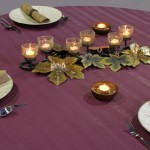 BENGALINE TABLECLOTHS ALL COLORS