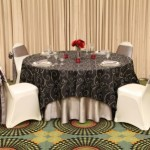 NOVA SWIRL TABLECLOTHS ALL COLORS