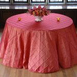 PINTUCK TABLECLOTHS ALL COLORS