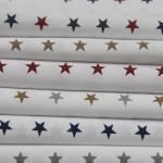 STAR PRINT TABLECLOTHS ALL COLORS