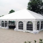 40X40 NAVITRAC FRAME TENT WHITE TOP
