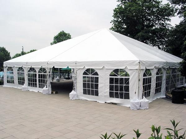 40x40 Navitrac Frame Tent White Top Michiana Tool And