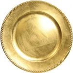 PLATE CHARGERS- GOLD & SILVER